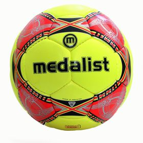 Medalist Fusion Soccer Ball - Yellow/Red
