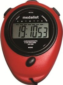 Medalist JS320 Stopwatch - Red