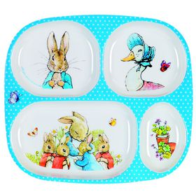Petit Jour Paris - Peter Rabbit 4 Compartment Plate