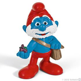 Schleich Papa Smurf with Bag