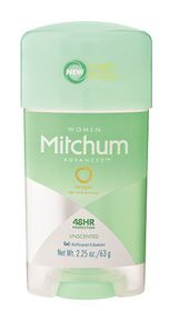 Mitchum Advanced Gel Women - Unscented - 63g