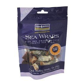 Fish4Dogs - Sea Wraps Sweet Potato - 0.1kg