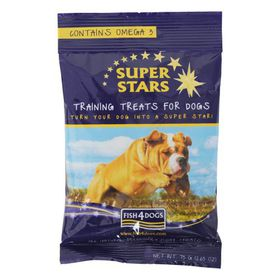 Fish4Dogs - Super Star Training Treats - 0.075kg