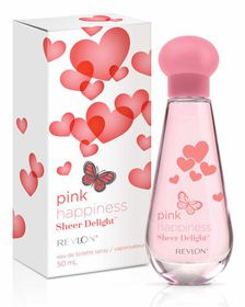 Revlon Pink Happiness Sheer Delight EDT Spray - 50ml