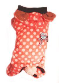 Dog's Life - Polka Bear Pajamas Pink - 2 x Extra-Small