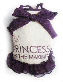Dog's Life - Polka Princess Dress Purple - Extra Small