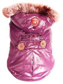 Dog's Life - Royale Parka Jacket With Hood - Purple - Medium