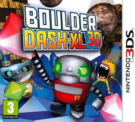 Boulderdash - XL 3D (3DS)