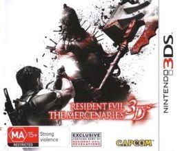 Resident Evil: The Mercenaries 3D (OZ) /3DS