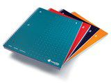 Livescribe 4-Pack of A4 Spiral Bound Notebooks (1-4)