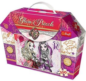 Trefl Ever After High Apple And Raven 100 Piece Glam Puzzles