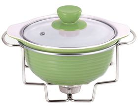 Wellberg - Round Food Warmer - Green