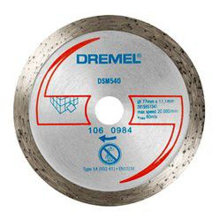 Dremel - Dsm20 Diamond Tile Cutting Wheel