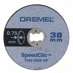 Dremel - Ez Speedclic: Thin Cutting Wheels - 5 Piece