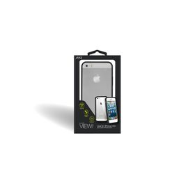 Jivo Clear View Case/Cover for the Apple iPhone 5/5S/SE - Black Bumper
