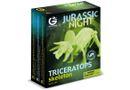Geoworld Jurassic Night - Triceratops Skeleton