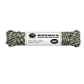 Rothco - Polyester Paracord 100ft - Camo