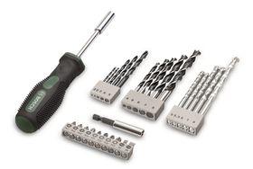 Bosch - 27-Piece Drill-Driver Bit Set & Hand Screwdriver
