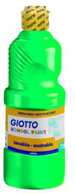Giotto School Paint 500ml - Green