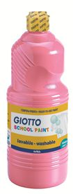 Giotto School Paint 1000ml - Pink