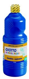 Giotto School Paint 1000ml - Ultramarine Blue