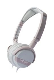 VCOM DE011 Headphone With Microphone 3.5mm Fold - Pink