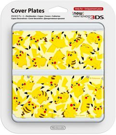 Nintendo - New Nintendo 3DS Coverplate - Pikachu (3DS)