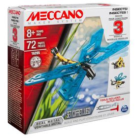 Meccano 3 Model Set - Insects