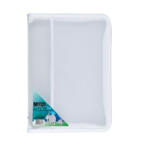 Meeco A4 Zip File Case - Clear