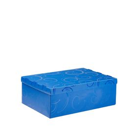Meeco Creative Collection P.P Foolscap Size Storage Box - Blue