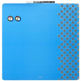 Quartet Combination Dry Erase & Pin Board - Blue