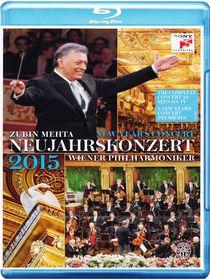 Zubin Mehta And Wiener Philharmoniker - New Year's Concert 2015 (Blu-ray)