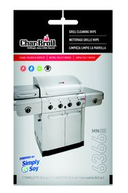 Char-Broil - Simply Soy Grill Wipes