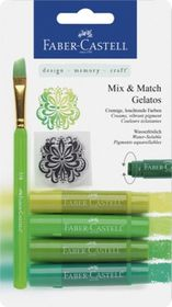 Faber-Castell Gelatos - 4 Shades of Green