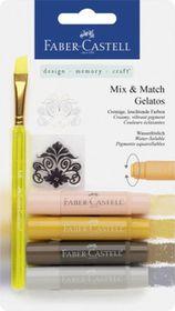 Faber-Castell Gelatos - 4 Neutral Colours