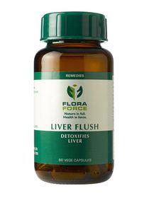 Flora Forec Liver Flush - 60 Capsules