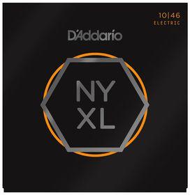 D'Addario NYXL1046 Nickel Wound Regular Light Electric Guitar Strings - 10-46
