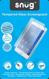 Snug Tempered Glass Screenguard - Sony Xperia Z3 Compact