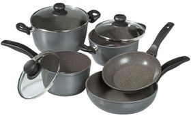 Stoneline - Cookware Set - 8 Piece