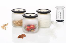 Stoneline - 3 Piece Vacuum Saver Storage Glasses Set - 500ml