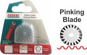 Parrot Craft Rotary 28mm Pinking Blades Refill Pack
