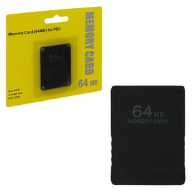 Memory card 64mb black (Assecure) (PS2)