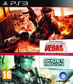 Rainbow Six Vegas 2 And Ghost Recon Advanced Warfighter 2 (Double Pack) (PS3)