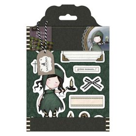Docrafts Gorjuss Rubber Stamp - Nightlife