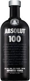 Absolut - 100 Vodka - 750ml
