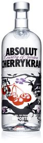 Absolut Cherrykran Vodka (750ml)