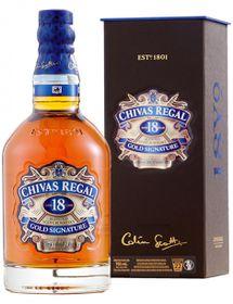 Chivas Regal - 18 Year Old Scotch Whisky - Case 6 x 750ml