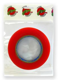 Tape Wormz Red Double Sided High Tack Tape - 18mm x 25m