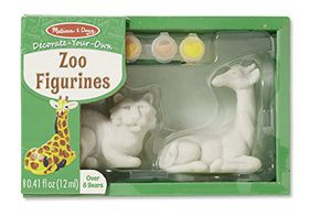 Melissa & Doug Zoo Figurines