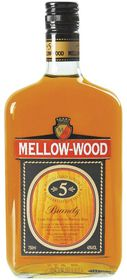 Mellow -Wood 5 Year Old Brandy - 750ml